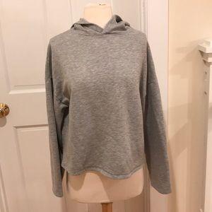 Zara small oversize boxy hoodie